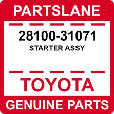 28100-31071 Toyota OEM Genuine STARTER ASSY