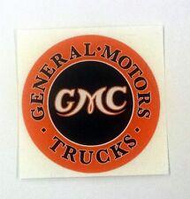 """Vintage GMC Trucks sticker decal 3"""" diameter"""