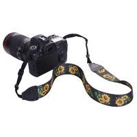 Ethnic Camera Single Shoulder Belt Strap Sling DSLR Cameras Canon Nikon Sony LE