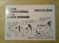 carte postale Club Bande dessinée Angoulême 1978 Reiser