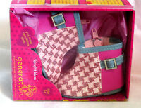 """Our Generation Bright Ideas SPARKLY HOUNDSTOOTH BOOTS American 18"""" Girl Doll NEW"""