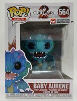 Funko Pop! Games #564 Guild Wars Baby Aurene + Pop Protector Damaged Box