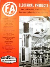 Frank Adam Electric Company Ebonized ASBESTOS Switchboard Electrical Panels 1944