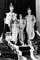 New 5x7 Photo: Coronation of King George VI and Queen Elizabeth, Royal Family