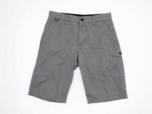 FOX  Racing Mens Size 36 Chino Shorts Flat Front Gray