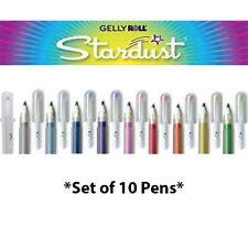 10 Sakura Gelly Roll Stardust Galaxy conjunto bolígrafo de gel