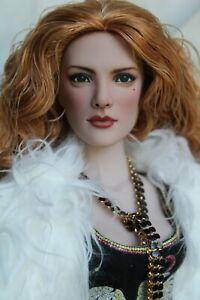 "Tonner 15"" OOAK TWILIGHT VAMPIRE VICTORIA Repaint Art Doll by artist SashaBleu"