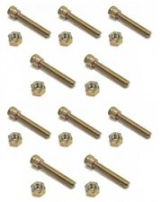 (10) SHEAR PINS & NUTS for Noma / John Deere 301171 Snow Thrower / Blower