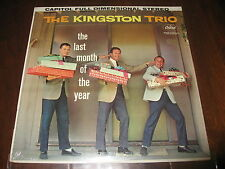 Kingston Trio SEALED Record lp The Last Month of the Year Capitol Orig ST1446