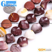 """16mm Twist Coin Gemstone Beads Jewelry Making Loose Beads 15"""" Free Shipping"""