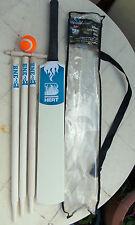 "Cricket Set Size 6 ,BIG BASH ""BRISBANE HEAT"" bat,ball 3 stumps, bail &bag"