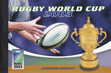 RUGBY WORLD CUP 2003 - SOUVENIR BOOKLET