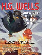 HG WELLS BOOK OF SCIENCE FICTION ~ 3 COMPLETE NOVELS AS THEY 1st APPEARED + MORE