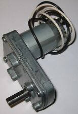 "50 RPM Heavy Duty Gearhead DC Motor - 12V - Merkle Korff - 3/8"" D Shaft"