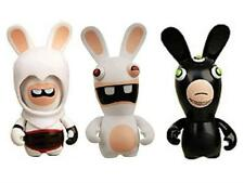 RAVING RABBIDS MINI FIGURES  SET OF 3 NEW