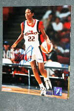SHERYL SWOOPES Signed 8x10 Autograph Mounted Memories COA HOUSTON COMETS WNBA a