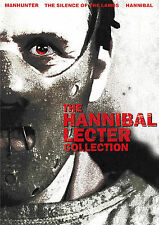 The Hannibal Lecter Collection (3-Disc DVD set, 2006)