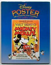 HUGE HC ~ DISNEY POSTER ANIMATED FILM CLASSICS BOOK ~ PROFUSELY ILLUS 1st PRINT