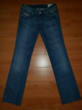 abbd9e22 Diesel Women's Med. Blue Easee X Straight Leg Jeans Size 26 X 30 NEARLY NEW
