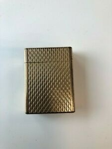 Vintage gold plate cigarette lighter by St.Dupont