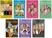 GOLDEN GIRLS Seasons 1-7 DVD Complete Series Collection  Visa/MC Pay only