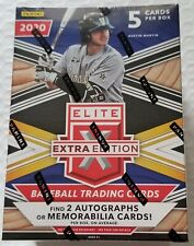 2020 Panini Elite Extra Edition Baseball Blaster Box Factory Sealed New