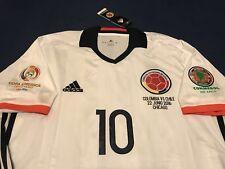 Colombia James Soccer Jersey Copa America Centenario Match Detail Vs Chile