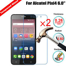 2Pcs Clear 9H Hardness Tempered Glass Anti-Scratch Screen Protector For Alcatel