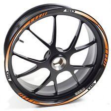 FRFR Liseret jantes Derbi Senda DRD Pro 50 Orange autocollant jante roue vinyle