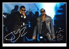 JAY-Z & KANYE WEST AUTOGRAPHED SIGNED & FRAMED PP POSTER PHOTO