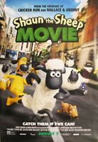SHAUN THE SHEEP MOVIE great original 27x40 D/S movie poster 2015