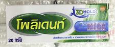 Dentures Cream POLIDENT Adhesive Complete Comfort Reduce Gum Secure Glue 20 g