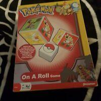 Pokemon On a Roll Game Pressman 2009 *complete*
