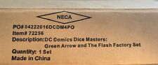 DC Dice Masters Green Arrow and The Flash Factory Set (Very Rare-Ever seen one?)