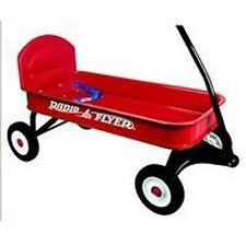 NEW RADIO FLYER 93B RANGER METAL RED WAGON & SEATBELT NEW IN BOX SALE