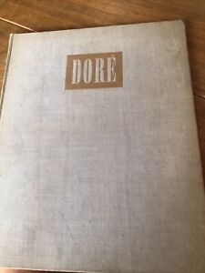 Gustave Dore Book Millicent Rose 1946 1st Edition Hardback