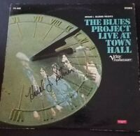 AUTOGRAPHED THE BLUES PROJECT Live At Town Hall 1967  Blood Sweat Tears