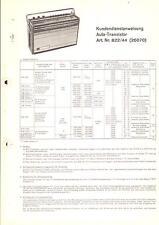 Körting Original Service Manual für Auto-Transistor  Art.-Nr. 822-44  26070