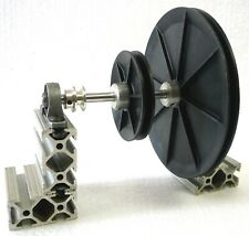 """Watchmakers Jewelers Lathe 8mm Countershaft 1"""" 3"""" 6"""" Pulleys + Pillow Blocks New"""