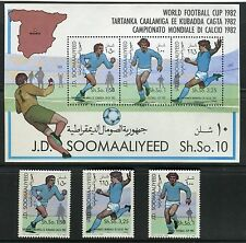 SOMALIA 1982 WORLD CUP SOCCER CHAMPIONSHIP/FOOTBALL/SPAIN/STADIUM/PLAYER/MAP