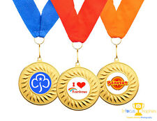 Girl Guids Beavers Rainbows Medals High Quality + Ribbon FAST DELIVERY