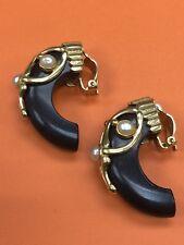 AK Paris Pearl Resin Earrings
