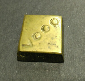 Awesome pirate & spanish colonial weight * for Gold 8 Escudos Vooo * Very rare!!