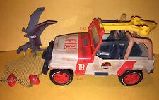 JURASSIC WORLD PARK toy JEEP WRANGLER JP18 + DINOSAUR VEHICLE CAR for figure