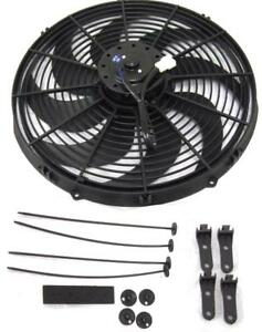 "16"" Inch Electric Radiator Fan Pusher Puller 120w High Power Motor 3000+ CFM"