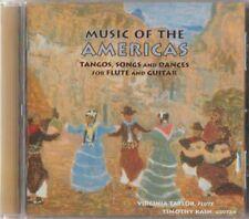 C.D.MUSIC  J690  MUSIC OF THE AMERICAS  TANGOS SONGS & DANCES FOR FLUTE & GUITAR