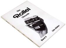 ROLLEI Chronik / Band II von Udo Afalter - 1. nummerierte Auflage BUCH Nr.163 !