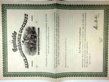 France. Equitable Life Assurance Society SPECIMEN Divident Certificate XF c.1900