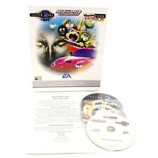 System Sock 2, Theme Park World for PC CD-ROM in Big Box by EA, 1998