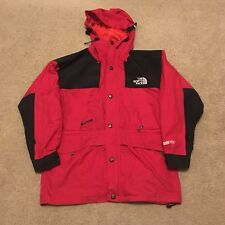 Vintage 90s The North Face Gore-Tex Jacket Men's Large L Red Mountain Guide